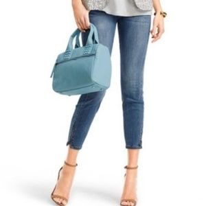 CAbi Style 232 Skinny La Jolla Ankle Zip Jeans 12